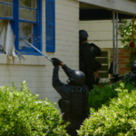 Police in Richland County, South Carolina conduct a drug search warrant for marijuana. Courtesy of VANISH Films.